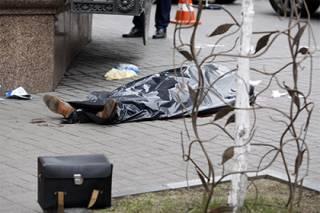 В Сети появилось видео первых секунд после убийства Вороненкова: чем занимается полиция, непонятно