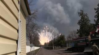 Взрывы на складах под Харьковом звучат все реже, но количество пострадавших увеличилось