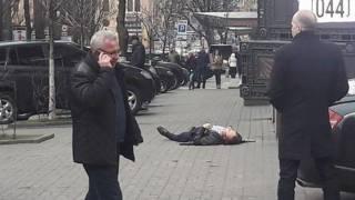 На месте убийства Вороненкова были замечены странные операторы
