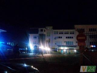 Ночью в Луцке обстреляли здание Генконсульства Польши