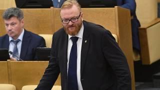 Российскому депутату Милонову запретили въезд в Украину