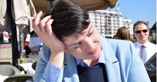 Савченко покорила Берлин легким платьем и призналась, что устала от политики
