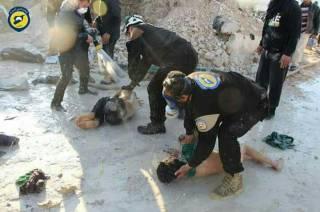 Жертвами газовой атаки в Сирии стали десятки людей, в том числе дети. Турки заподозрили Россию