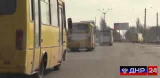 В сторону ДНР едут около тысячи автобусов с призывниками