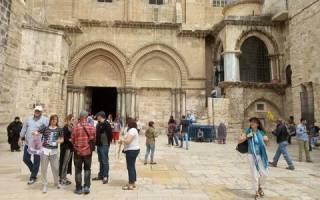 Из храма Гроба Господня в Иерусалиме организованы прямые включения для пользователей Facebook