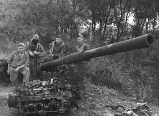 История первых побед: бегство боевиков из Славянска