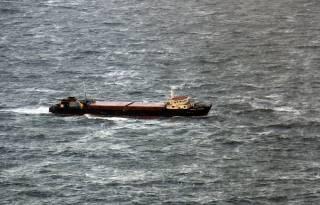 В Черном море затонул российский сухогруз с украинцами на борту