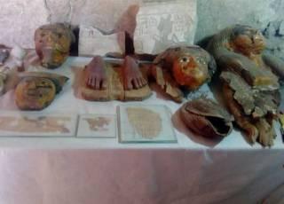 Археологи обнаружили на западе Луксора новое кладбище: несмотря на скромные размеры, количество находок потрясает