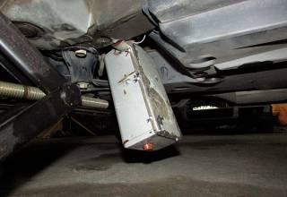 Работники СТО обнаружили под днищем автомобиля мэра Измаила... самодельную радиоуправляемую бомбу