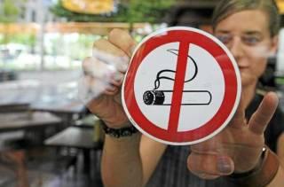 Депутаты Киевсовета предлагают поднять штрафы за курение в запрещенных местах до небес