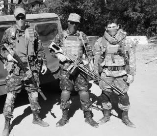 Война на Донбассе: горячий октябрь под Водяным