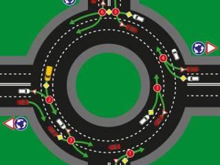 В Украине вступили в силу новые правила проезда перекрестков с круговым движением. Путаница неизбежна