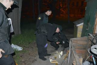 Одесская полиция нашла неподалеку от Куликова поля рюкзак со взрывчаткой