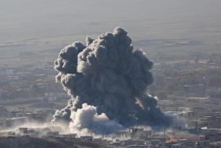 В иракском Мосуле под ракетный обстрел попала школа. 81 человек погиб