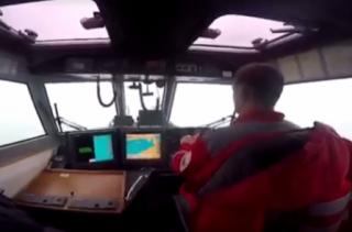 В Черном море россияне попытались захватить украинское судно
