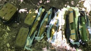В Киеве обнаружили тайник с противотанковыми гранатометами