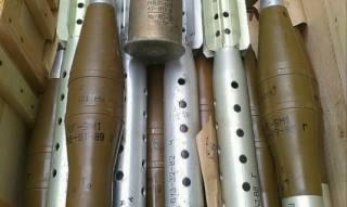 В Широкино местный житель хранил у себя в колодце целый арсенал оружия