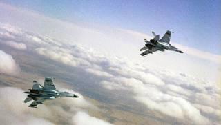 Российский летчик над Черным морем очень рискованно «поприветствовал» американского коллегу