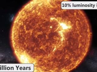 Все катаклизмы, которые произойдут на Земле в ближайший миллиард лет, показали в одном видео