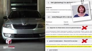 Журналисты подловили главу антикоррупционного агентства на новеньком незадекларированном автомобиле