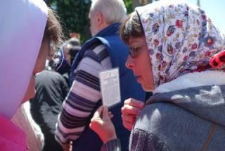 О чем говорили православные верующие у стен Верховной Рады 18 мая