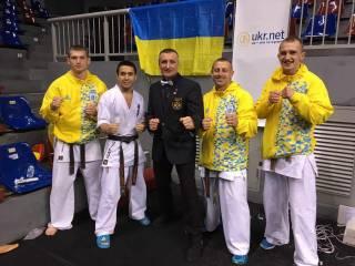 Украинские спортсмены завоевали два «золота», «серебро» и «бронзу» на Первом Чемпионате Азии по Каратэ Киокушинкайкан