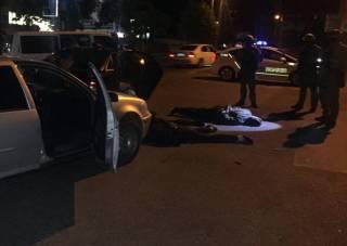 Кропивницкая полиция задержала 13 киевлян, перевозивших оружие и боеприпасы