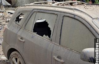 В Киеве опять прорвало трубу. Горячий фонтан достиг 7-го этажа