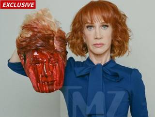 Американская телеведущая своей провокационной фотографией повергла в шок даже противников Трампа