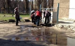 Жители Авдеевки снова остались без воды. В резервуаре фильтровальной станции ее осталось около тысячи кубов
