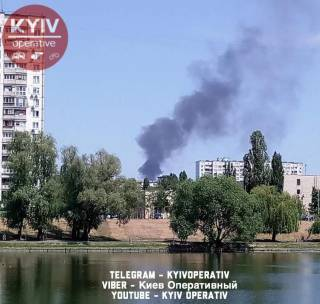 В Днепровском районе Киева прогремел взрыв