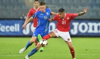 Сборная Украины пробила дно, проиграв одной из худших команд мира
