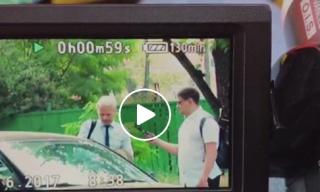Антикоррупционер Шабунин напал на журналиста после вопроса о службе в АТО