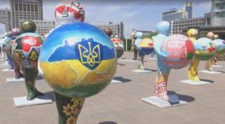 Казахи сделали Крым «российским», установив в Астане очень странные карты