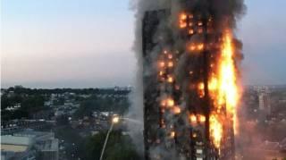 В результате грандиозного пожара в Лондоне погибли 6 человек. Украинцы не пострадали