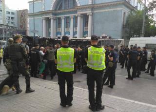 Марш за права ЛГБТ в Киеве: центр перекрыт, страсти накаляются