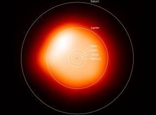 Ученым удалось получить самый четкий снимок звезды, отличной от Солнца
