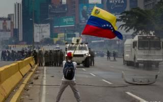 В не признавшей украинский Майдан Венесуэле активизировалась революция. На улицах Каракаса появились баррикады
