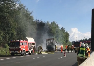На автобане в Баварии разбился туристический автобус. 30 человек пострадали, 17 пропали без вести