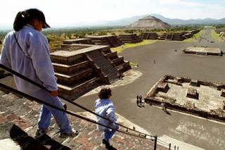 Под древней пирамидой в Мексике обнаружен туннель для путешествия в загробный мир