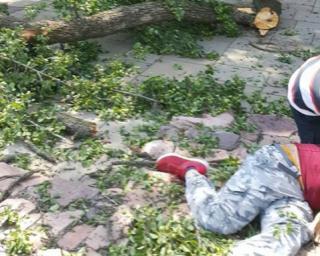 Во время прогулки по Киеву спасатель турецкой службы «911» получил 22 перелома