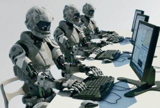 В Украине каждый третий работодатель готов заменить своих сотрудников роботами