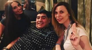 Российская журналистка в подробностях рассказала о том, как Марадона пытался над ней надругаться