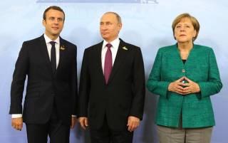 Путин, Меркель и Макрон обсудили ситуацию в Украине. Без представителя Украины