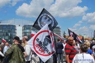 «Геноцид помним — бандеровцам жить не дадим»... В Варшаве вспомнили трагические события на Волыни