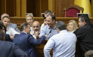 Депутаты приняли новый закон о КСУ. Ляшко сразу заговорил о сговоре