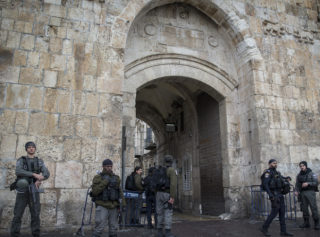 В Иерусалиме совершен теракт на Храмовой горе. Есть пострадавшие
