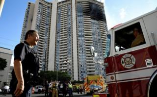 На Гавайях вспыхнула 36-этажная высотка. Есть жертвы