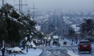 На Чили обрушился снегопад. Есть жертвы