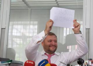 Добкин уверяет, что Швейцария прекратила против него санкции
